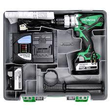 hitachi 18v drill. hitachi dv18dsdl/jj 18v cordless li-ion combi drill (2 x 5ah batteries) 18v