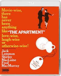 The Apartment Blu Ray Arrow Films