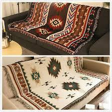 bed blankets uk aztec navajo sofa towel
