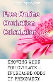 Chinese Calendar Ovulation Chart Ovulation Calculator Calculate When You Are Most Fertile