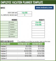 vacation forms for employees 50 vacation calendar templates examples pdf all form templates