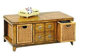 wicker basket coffee table patio coffee table with storage enormous cool round home