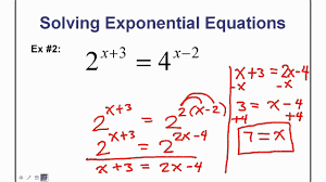 compound interest problems solving exponential equations