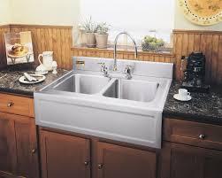 Drop In Farmhouse Kitchen Sink Drop In Apron Front Kitchen Sink Best Kitchen Ideas 2017