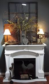 fireplace decor i really like the greenery on mantle smack rustic fireplace walls l74 fireplace