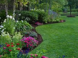garden borders. Delighful Garden Perennial Border With Curved Edges To Garden Borders O