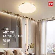 ĐÈN LED ỐP TRẦN THÔNG MINH XIAOMI YEELIGHT Shaohua Starry Sky Series  YLXD60YL-B (420MM – 24W – chỉnh màu 3000-5700K) - Đèn trần Thương hiệu  Yeelight