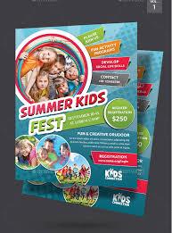 25 Kids Summer Camp Flyer Templates Free Premium Download