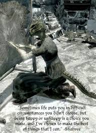 Skyrim Quotes