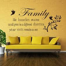 Vinyl Wall Quotes Fascinating Family Like Branches On A Tree Vinyl Wall Quotes Stickers Wall