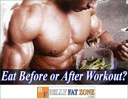 build muscle belly fat zone s