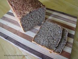 Rugbrød Dark Rye Bread My Danish Kitchen