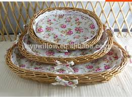 Handmade Tray Decoration Handmade Cheap Wicker Christmas Decoration Tray Wicker Fruit Tray 2