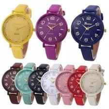 Ulifeshop Geneva <b>Lady Watch</b> Leather <b>Watch Fashion</b> Quartz <b>Watch</b> ...