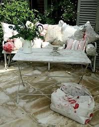 whitewash outdoor furniture. Shabby Whitewashed Terrace Table Whitewash Outdoor Furniture L
