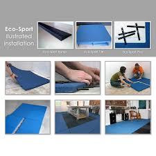 installation eco 4 eco sport 1 inch interlocking rubber flooring tiles