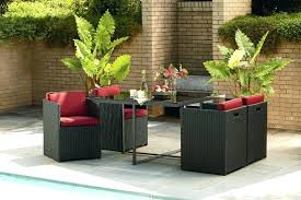 small space patio furniture sets for home decor ideas dining with umbrella on