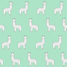 alpaca // mint green alpaca fabric cute llama design best nursery fabrics  cute mint and