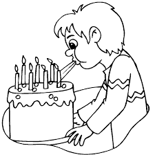 Small Picture Birthday Cake No Candles Coloring Page Image Inspiration of Cake