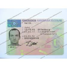 License License Buy Licence For German Template Driver's Original Real Novelty Germany Sale Fake Drivers Make Driving Online