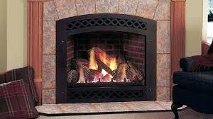 gas log fireplace insert inserts home depot within prepare 3