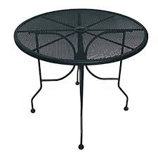 ats furniture alm36 table round 36 inch open mesh top for