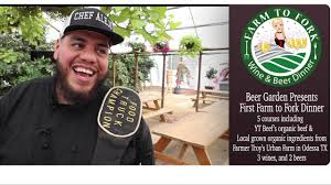 farm to fork at midland beer garden