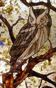 stained glass owl easy patterns baby