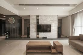 fireplace tv wall by ego design studio view in gallery minimalist loft by oliver interior design