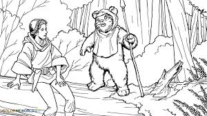 Small Picture Star Wars Ewok Coloring Pages Coloring Home Coloring Coloring Pages