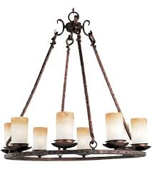 maxim 10976wsoi notre dame 8 light 30 inch oil rubbed bronze single tier chandelier ceiling light