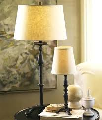 candlestick table accent lamp base from pottery barn 4 lamps small