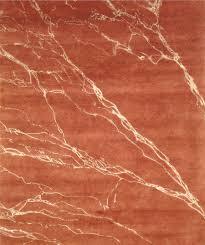 rust colored scottsdale area rug from la maison interiors