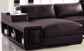 modern leather couch. Divani Casa T132 Mini - Modern Leather Sectional Sofa Couch F