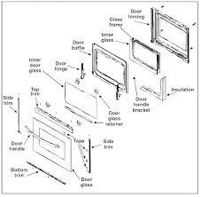 oven door replacement glass how
