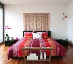 Wooden Coffee Table at Foot of the Bed