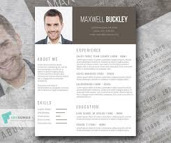 Original Resume Template The Headline A Modern And Unique Resume Template Freebie Freesumes