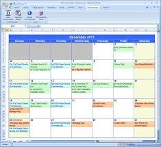Excel Calendar Template 2013 Excel Calendar Template