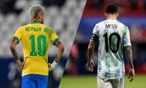 كلاسيكو الأرض بين البرازيل والأرجنتين ومواعيد مباريات تصفيات مونديال قطر  2022 - مدى بوست
