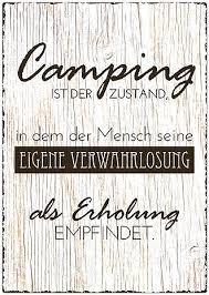 Blechschild Größe A4 Camping Ist Der Zustand Online