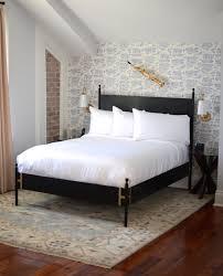 black metal bed frame full. Fine Full JosephineBlackmetalbed Intended Black Metal Bed Frame Full