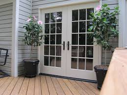 window treatments for french doors to a patio