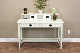 white writing desk ideas