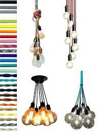 color cord pendant light large pendant lighting canada