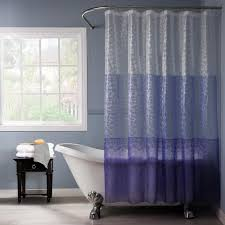 purple and blue shower curtains. Plain Curtains Dainty Home Reflection 3D 72 In Purple Shower Curtain For And Blue Curtains N