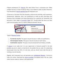 Ppt Resume Samples Free Resume Maker Download Cv