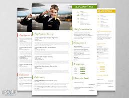 cabin crew sect flight attendant modern resume cv template cover cabin crew sect flight attendant modern resume cv template cover letter design for word