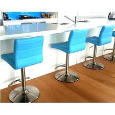 Light Blue Bar Stools Design Exciting  Navy Leather P26