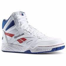 reebok high tops classic. reebok m42662: classic royal bb4500 hi-top white-red-blue basketball sneaker high tops