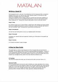 Sample Resume Examples Of Pdr Objectives Valid Cv Layout Examples
